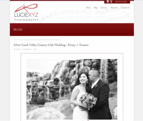 Silver Creek Valley Country Club Wedding of Kristy & Ernesto
