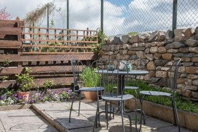 Back Patio at Acorn Cottage, Ingleton