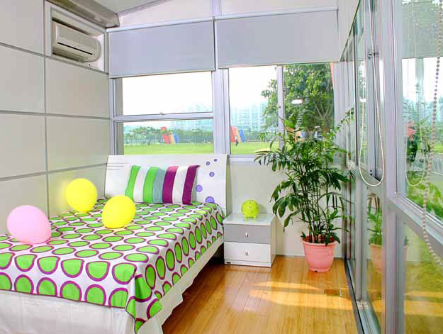The Winghouse prefabricated container home