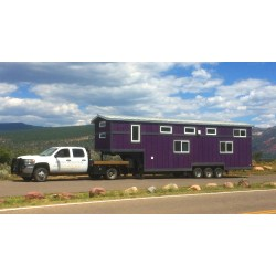 Encouragement Tiny Homes Are A Huge Hit But Never Seen One This Big Pemberly Is A Traveling House Made From A Large Gooseneck Trailer By This Huge On Wheels Can Fit A Family Five curbed Tiny House Trailer