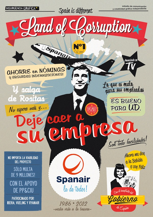 Spanair y Land of Corruption
