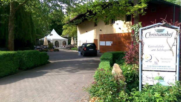 Gutsschänke Christianshof (Eingang)