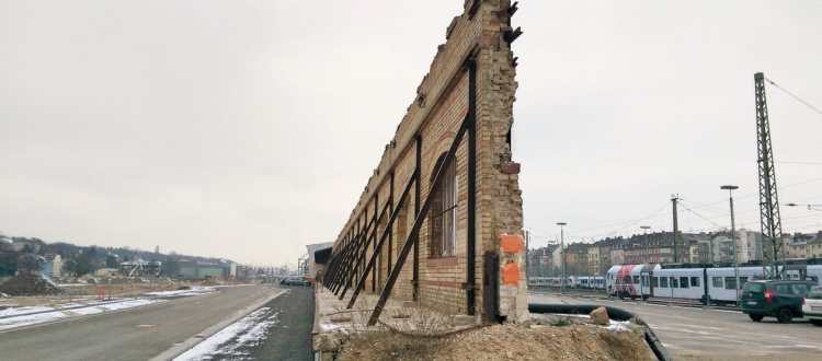 Coworking Mainz: Die Mauer