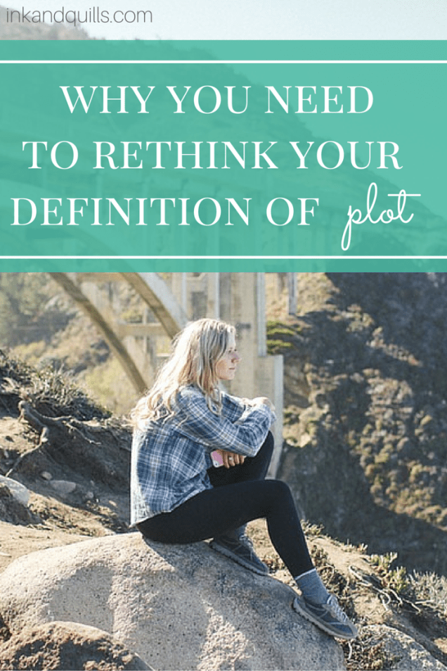 A plot isn't just a bunch of exciting events strung together. Learn the 3 elements that create a focused story.