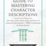 The Ultimate Guide to Mastering Character Descriptions
