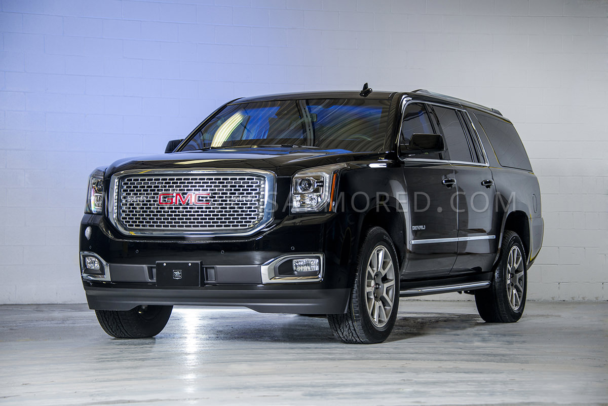Armored GMC Yukon Denali For Sale   INKAS Armored Vehicles     Armored GMC Yukon Denali SUV