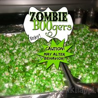 Zombie BOOgers are Yummy... Really!