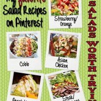 For the Love of Salads... Some of my {Favorite} Salad Recipes!