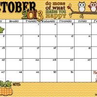 October 2013 Calendar is Here!