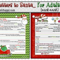 Letter to Santa 2013... for Adults! {wink-wink}