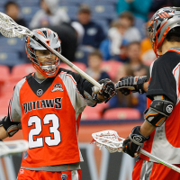 Outlaws Get Past Lizards Behind Berg's Four Goals