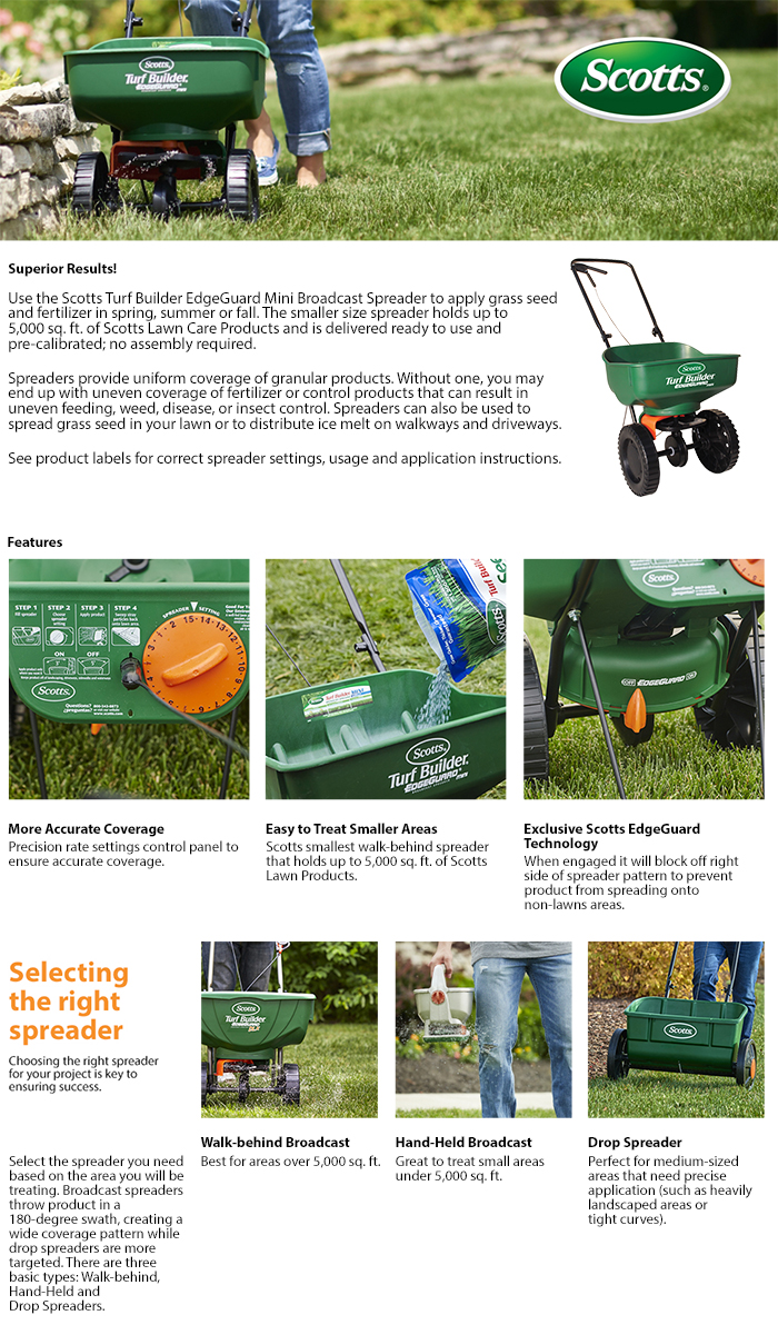 Considerable Product Overview Scotts Turf Builder Mini Broadcast Home Depot Scotts Spreader Settings Lesco Products Scotts Spreader Settings 12 12 12 houzz-03 Scotts Spreader Settings
