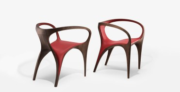 ZHD Chair Ultra Stellar red pair