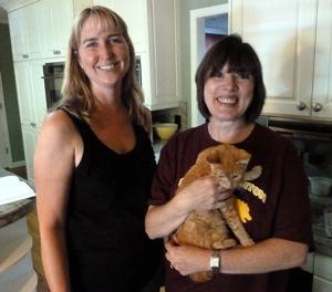 Courtney Gillette and Cindy Folker
