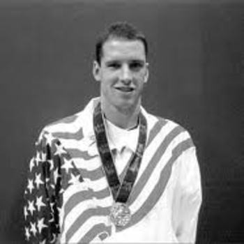 Dick Roth at 1964 Olympic Gold Medal ceremony