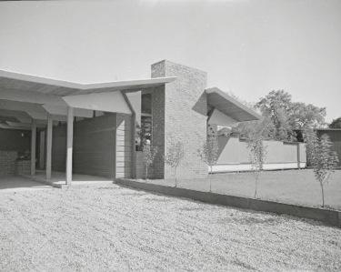 Eichler home in Menlo Park