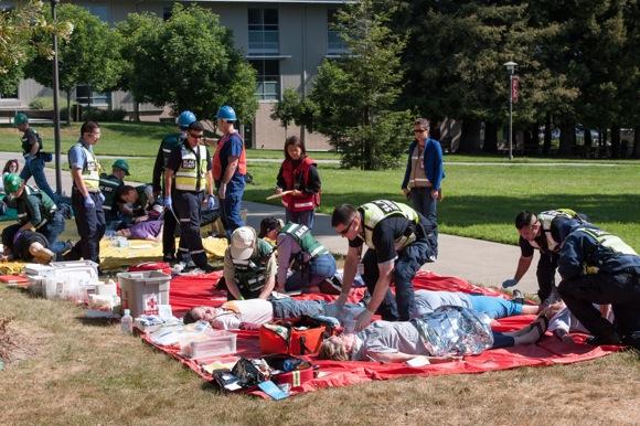 SLAC_emergency earthquake drill