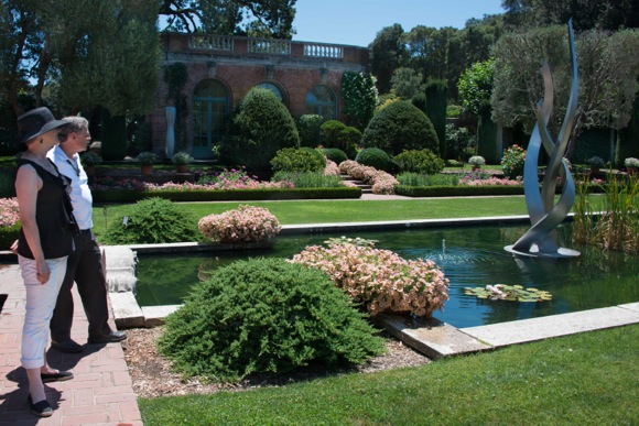 Filoli sculpture in water_second