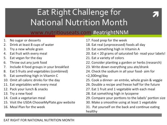 EatRight Challenge