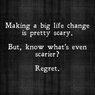 lifechange regret