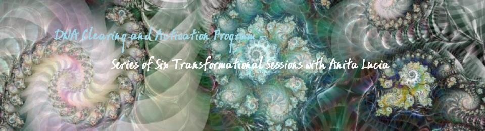 DNA Clearing and Activation Program ~ Series of Six Transformational Sessions