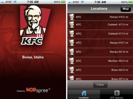 kfc-on-iphone