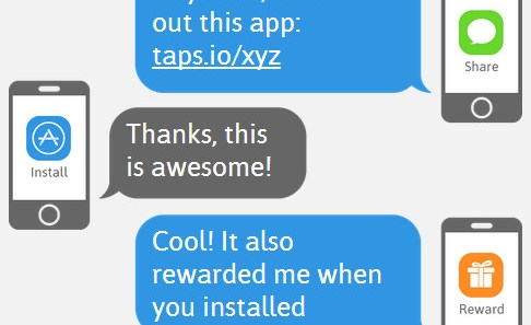 Tapstream предлагает приобретение пользователей через SMS