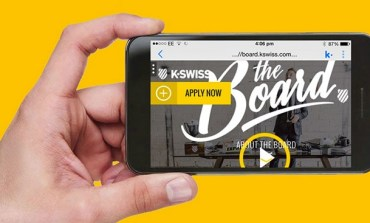 K-Swiss показывает видео в мессенджере Kik