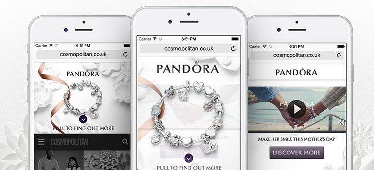 Реклама Cetra для Pandora