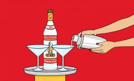 Мобильная реклама Stoli дает возможность почувствовать как смешивают коктейли