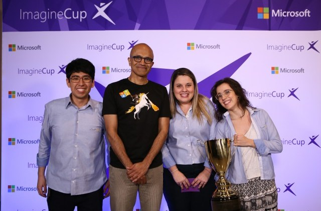Satya Nadella and the Imagine Cup