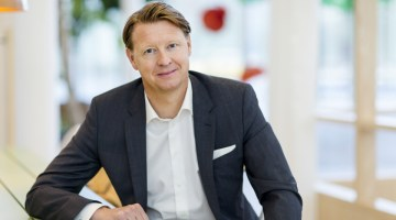 Hans Vestberg, CEO of Ericsson. Photograph by Per Myrehed/Fortune