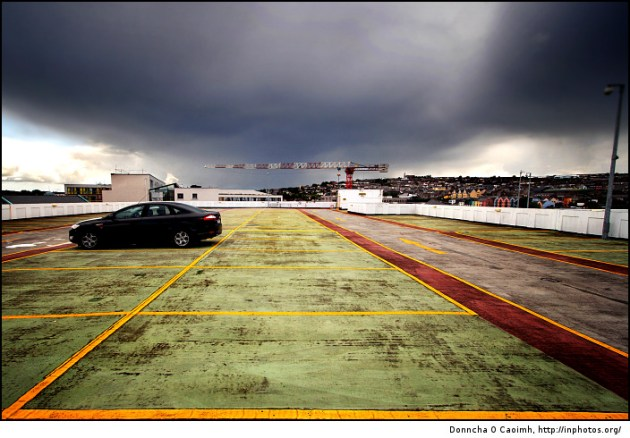 Cloudy Carpark