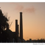 Sunset Chimneys