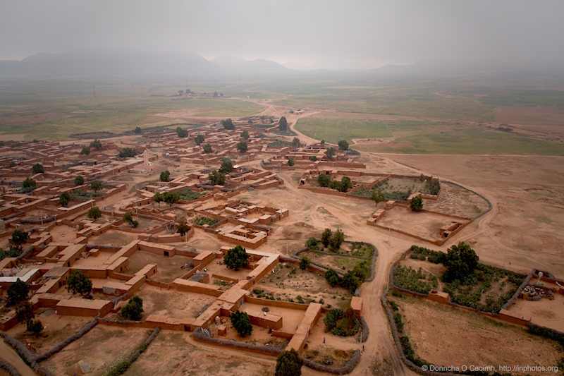 Berber Village from the Air