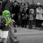 Green Hair on St. Patrick&