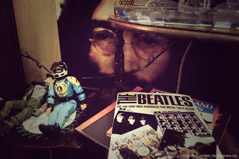 The Beatles, John Lennon and Action Figures
