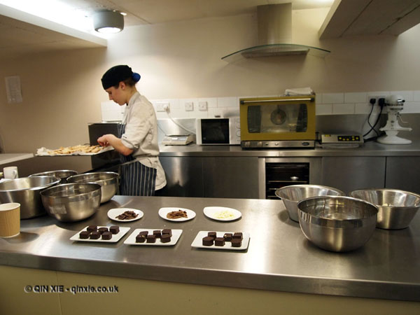 Truffle making with William Curley