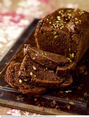 Willie Harcourt-Cooze's Cacao and Olive Bread Recipe
