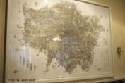 Giant map of London at Charles Lamb