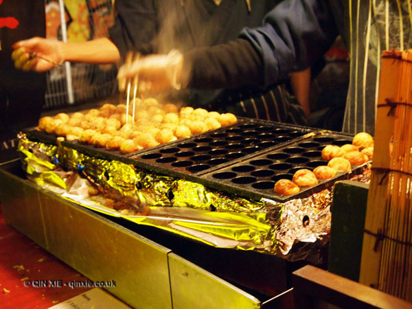 Puff balls cooking at The Long Table