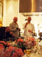 Ercole Moroni and Luca Seminara, Laurent Perrier Tous Les Sense at Massimo, The Corinthia, London