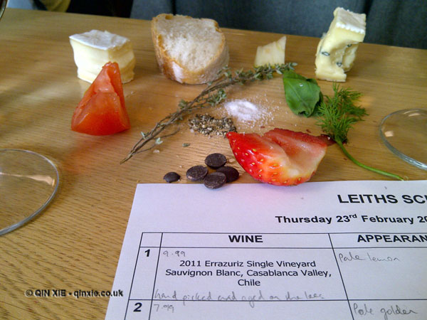 The Leiths Diaries: The Wine Lectures