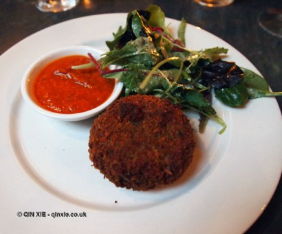 Veal croquette, Rookery, Clapham