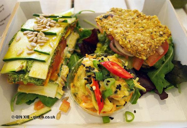 Salad at 42 Raw