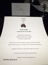 Menu, Languedoc wines at Apero, Ampersand Hotel
