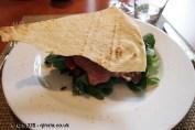 Steak salad, Villa Maria, Abruzzo