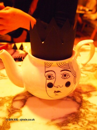 Tea pot, Mad Hatters Tea Party, Sanderson