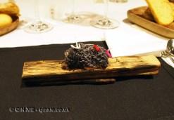 Foie gras ashes, Azurmendi, Vizcaya