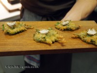 Fried leaves, Mugaritz, Errenteria